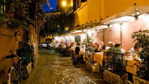 rome , dining out, 1