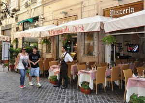 rome , dining out, 2