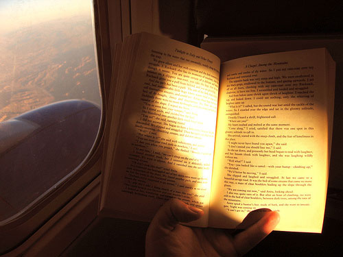 Reading-on-the-Plane